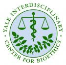 Yale Interdisciplinary Center For Bioethics Logo, links to homepage